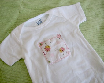Cuddle Bug baby bodysuit or onesie size 3 to 6 months