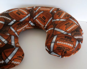 Football baby Boppy cover or nursing pillow cover