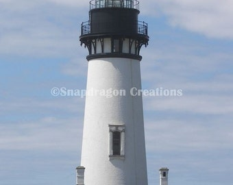 Yaquina Lighthouse Oregon Photograph