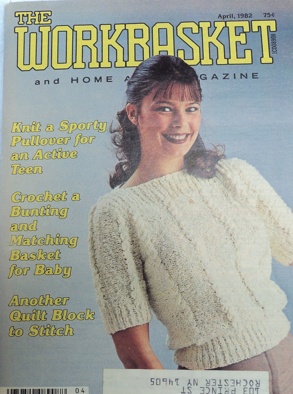 Knit crochet patterns workbasket magazine set of three 1970s 300 shipping bankloansurffo Choice Image