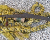 Antique Farm Tool- Large Hay Cutter-Hacker, Industrial, Worn, and Weathered Saw Like Tool