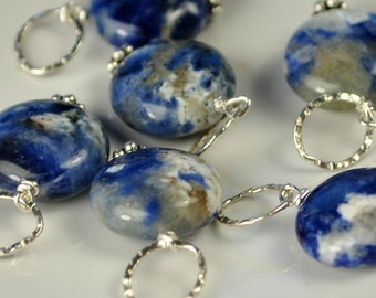 Sodalite DIY Necklace Charm