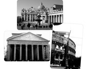 Photo Magnets, Set of 3: Rome