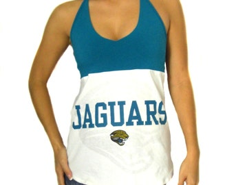 One of a Kind Gameday Shirt made w/ Jax Jaguars Tshirt - Small - On Sale and Free Shipping