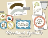 Woodland Animals - DIY Printable - Full Collection