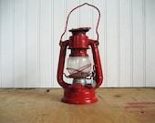 Vintage Winged Wheel Lantern