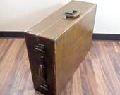 Vintage Samsonite Suitcase Hanging Wardrobe Luggage