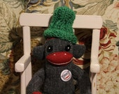 Merino Wool Sock Monkey (made to order) by POST STREET