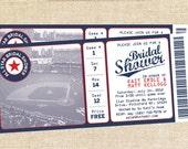 Baseball Bridal Shower invitations - set of 15