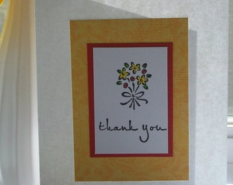 Thank You Handmade Greeting Card