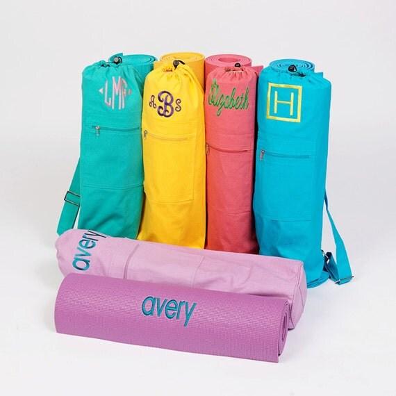 Custom Embroidered Yoga Mat Bag