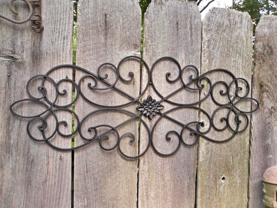 iron shabby chic decor black home decor bedroom wall decor