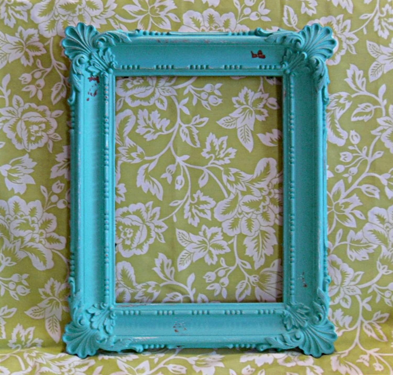 20 shabby chic white photo frames green patterned frame fre