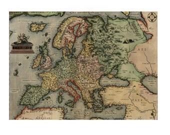 EUROPE 5MS- Handmade Leather Photo Album - Travel Art