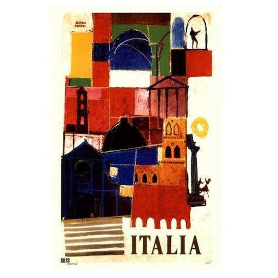 ITALY 11S- Handmade Leather Journal / Sketchbook - Travel Art