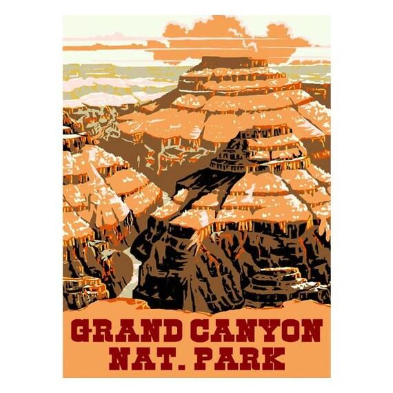 GRAND CANYON NP 2s- Handmade Leather Photo Album - Travel Art