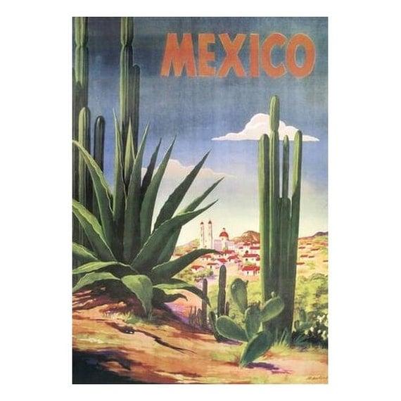 MEXICO 2S- Handmade Leather Photo Album - Travel Art