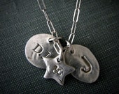Up In Charms Personalized Silver Charm Necklace