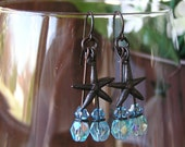 Reserved listing for the lovely Donna R - Under the Sea Earrings