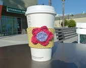 Posie Protection Coffee Cozy