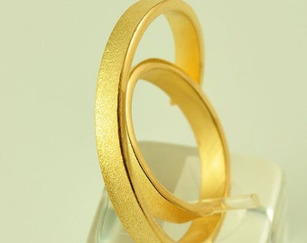 22K Solid Gold, Handcrafted Ring, No. 025-61