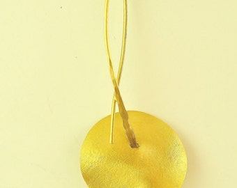 22K Solid Gold Pendant, No. 058-3
