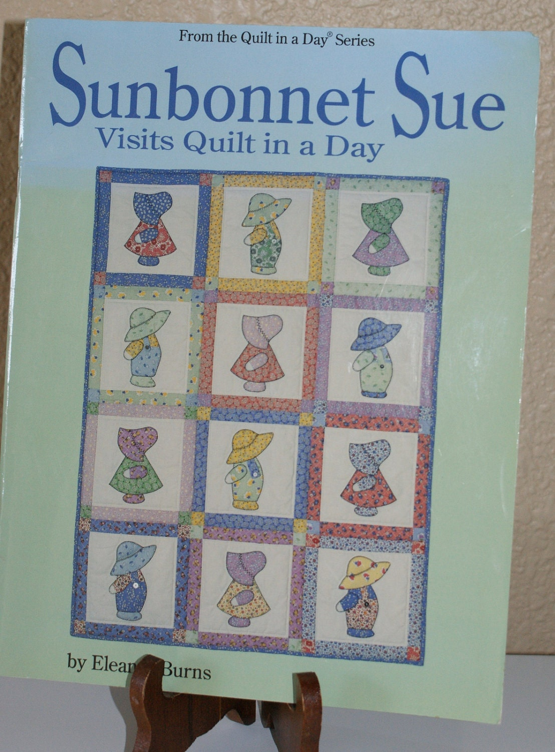 Sunbonnet Sue Patterns Eleanor Burns Quilt In A Day Series