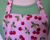 Full Apron - Cherries Jubilee