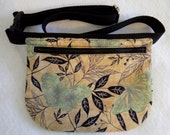 Hip Bag - Butterflies and Leaves