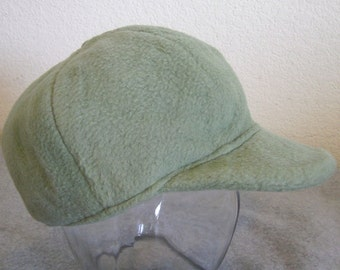 Fleece Ballcap - Green - Medium 6-12 months