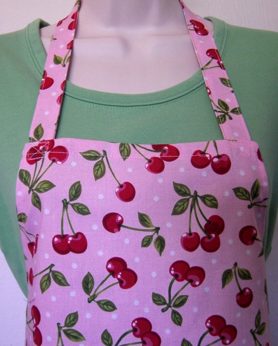 Full Apron - Cherries Jubilee