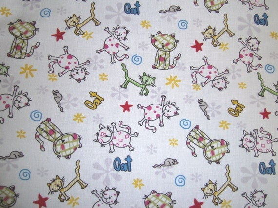 Fat Quarter - Adorable Kitties