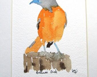 Bird Watercolor