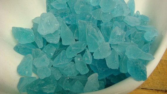 Sea Glass Beach House Decor For Wedding Crafts Candles Turquoise Blue Red White Green 2 Pounds