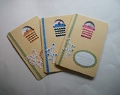 Set of Three Birthday Cards