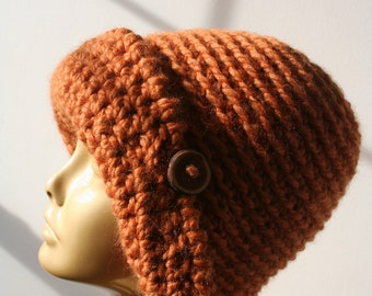 Canela crochet hat