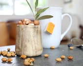 Wooden Cup- Reclaimed Southern Hackberry