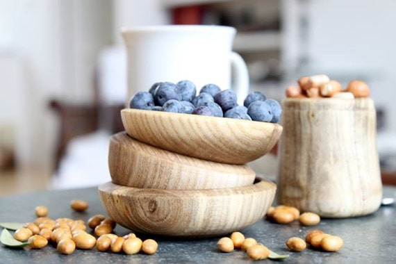 Small Wooden Dish- Reclaimed Southern Hackberry