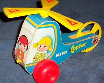 Fisher-Price 448 MINI COPTER 1971 to 84