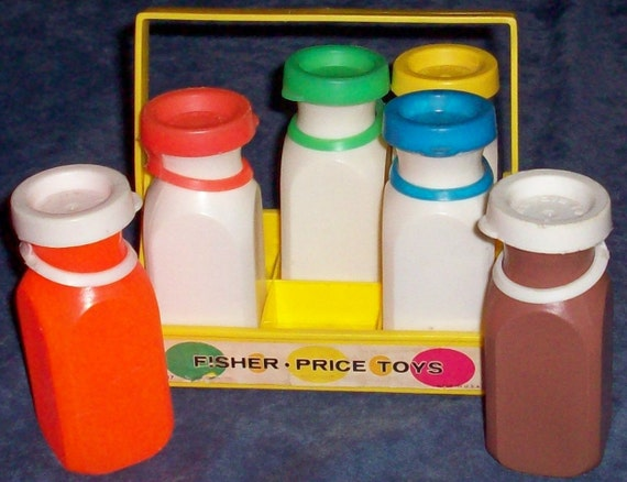 Fisher-Price 637 MILK CARRIER incl Bottles