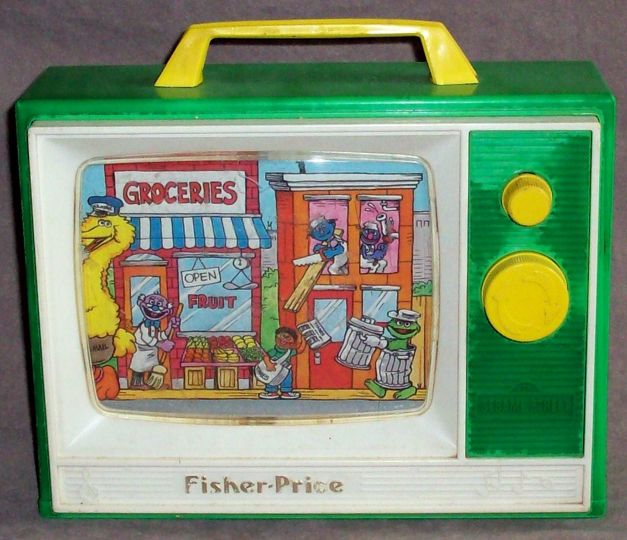 Sesame Street Musical Toys : Fisher price toy sesame street music box tv by