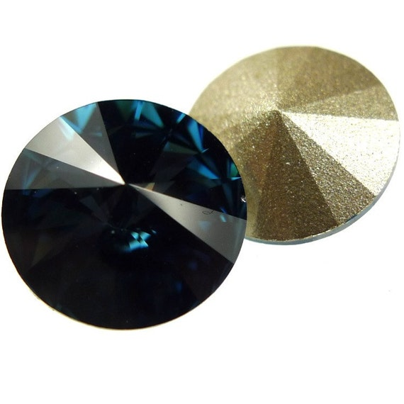 Swarovski Elements rivoli 1122 rivoli 2pc