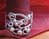 Sterling Silver Vine Wire Twist Ring