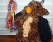 Crochet Pattern Fancraft Crocheted Boomkin PDF Pattern