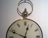 Vintage French Deco Josiah Wentworth & Sons Wall Clock