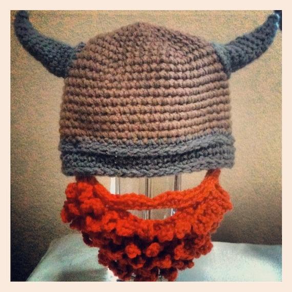 Crochet Viking Beard Hat Pattern Free : Crochet Viking Beard Hat by magicalshan on Etsy