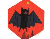 Eastern Small Fry Bat . Print