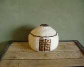 Felted wool yurt, large