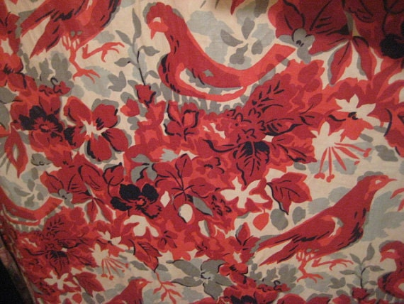 Reserved For Victoria O 39 Neill Vintage Drapery By Starpower99