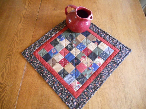 Americana Quilted Table Topper Civil War